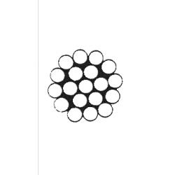 Cavo Inox 1x19 Ø 6 mm