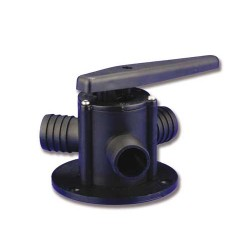 Valvola a 3 vie x tubi Ø25mm