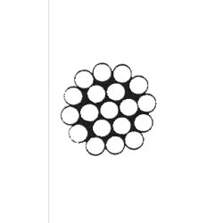 Cavo Inox 1x19 Ø 3 mm
